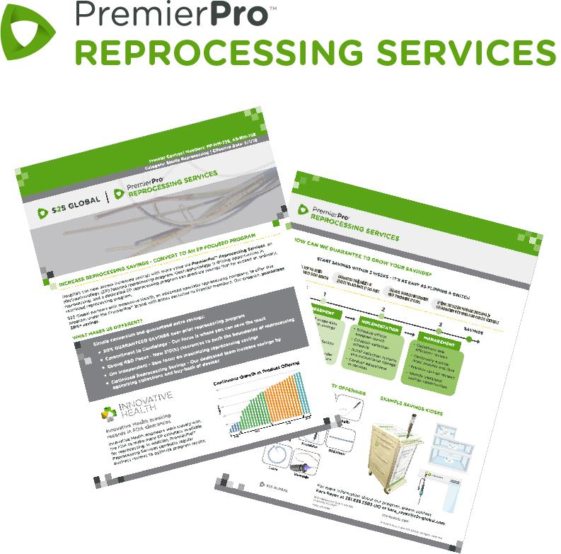 PremierPro Reprocessing Services